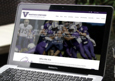 Martha's Vineyard Touchdown Club Website