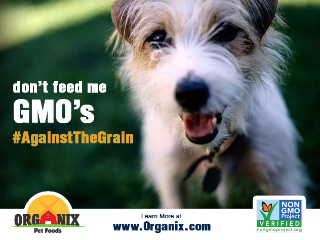 Social media marketing campaign for organix pet food going #againstthegrain