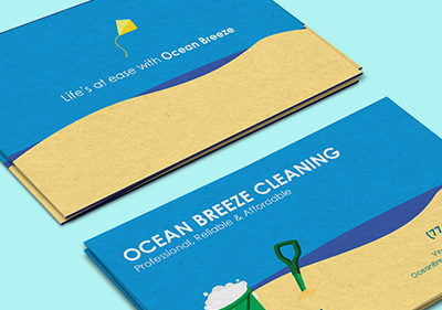 Ocean Themed Business Card Design