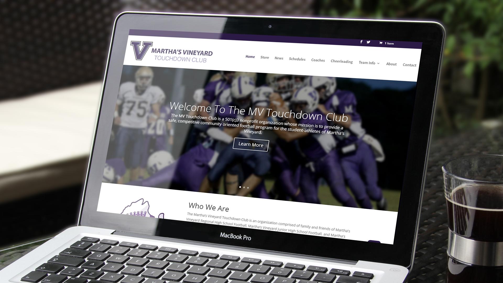 Martha's Vineyard Touchdown Club Website