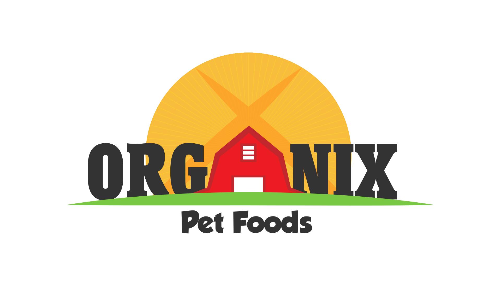 Organix Pet Food Branding Redesign