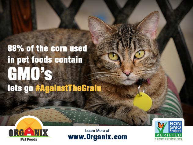 Social media marketing campaign for organix pet food going #againstthegrain