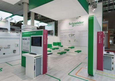 Trade show panel graphic design for Schneider Electric