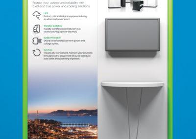 Trade show graphic design for Square D of Schneider Electric