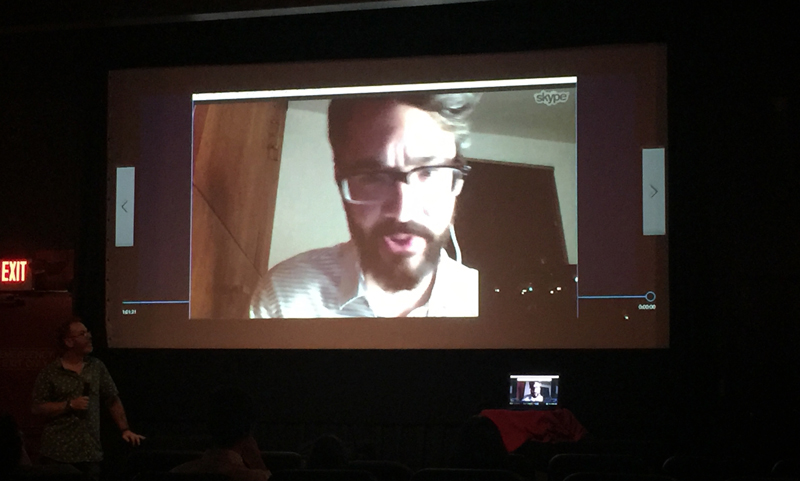 What Comes Next is the Future, a documentary about the web, Q&A session with Matt Griffin.
